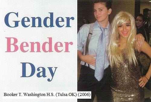Role reversal caption gender swap #4