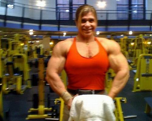 Fun: Michelle Brent - known among bodybuilders as Woman ...
